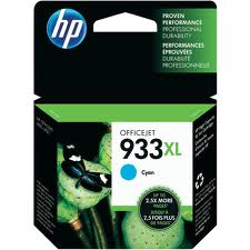 HP 933XL High Capacity Cyan Ink Cartridge - CN054A
