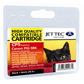 Jet Tec PGI-5 Black Ink Cartridge, 29.5ml