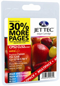 Jet Tec PGI-520, CLI-521BK/C/M/Y Ink Cartridges Include 2 x Black, 1 x Cyan, 1 x Magenta, 1 x Yellow