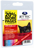 Jet Tec PGI-5, CLI-8BK/C/M/Y Ink Cartridges Include 2 x Black, 1 x Cyan, 1 x Magenta, 1 x Yellow