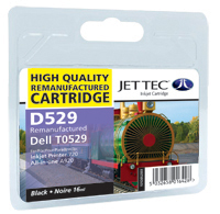 Replacement Black Ink Cartridge (Alternative to Dell T0529)