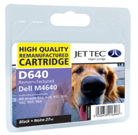 Replacement High Capacity Black Ink Cartridge (Alternative to Dell M4640)