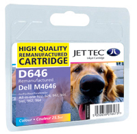 Replacement High Capacity Colour Ink Cartridge (Alternative to Dell M4646)