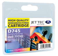 Replacement Colour Ink Cartridge (Alternative to Dell 7Y745)
