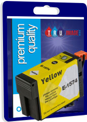 Compatible High Capacity Pigment Yellow XL Ink Cartridge for Epson T1574 - 29.5ml