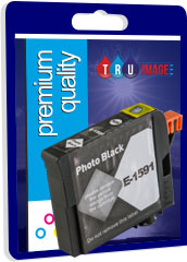 Compatible Photo Black Pigment Ink Cartridge for Epson T1591 - 17ml