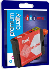 Compatible Red Pigment Ink Cartridge for Epson T1597 - 17ml