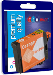 Compatible Orange Pigment Ink Cartridge for Epson T1599 - 17ml