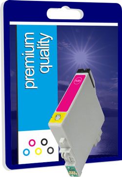 Premium Quality Compatible Magenta Ink Cartridge for T044340, 18ml