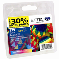 Jet Tec ( Made in the UK) Colour Ink Cartridge for T039, 33ml