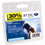 Jet Tec (Made in the UK) E48LC Light Cyan Ink Cartridge for T048540, 13ml