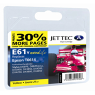 Jet Tec ( Made in the UK) E61Y Compatible Yellow Ink Cartridge for T061440, 8ml