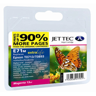 Jet Tec ( Made in the UK) E71M Compatible Magenta Ink Cartridge for T071340, 5.5ml