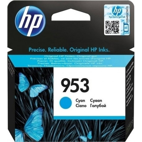 HP 953 Cyan Ink Cartridge - F6U12A