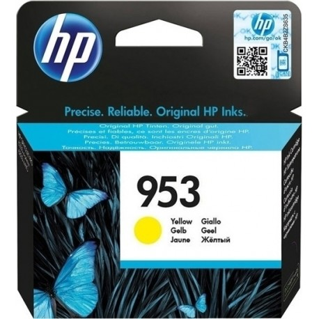 HP 953 Yellow Ink Cartridge - F6U14A