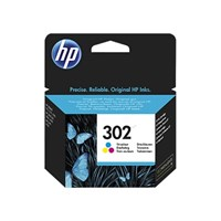HP 302 Color Ink Cartridge - 302