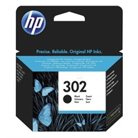 HP 302 Black Ink Cartridge - 302