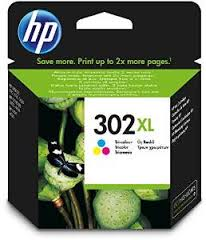 HP 302XL High Capacity Color Ink Cartridge - 302 XL