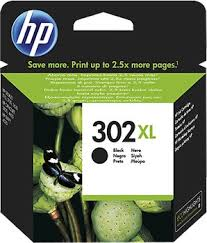 HP 302XL High Capacity Black Ink Cartridge - 302 XL