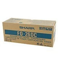 Sharp FO 26DC Laser Toner Cartridge, 2K Yield