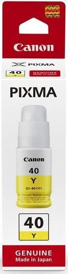 Yellow Canon GI-40 Ink Bottle - 3402C001
