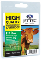 Replacement High Capacity Black Ink Cartridge (Alternative to HP No 10, C4844A)