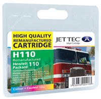 Replacement Colour Ink Cartridge (Alternative to HP No 110, CB304A)