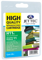 Replacement High Capacity Cyan Ink Cartridge (Alternative to HP No 11, C4836A)