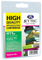 Replacement High Capacity Magenta Ink Cartridge (Alternative to HP No 11, C4837A)