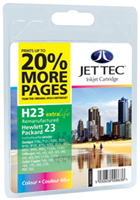 Replacement 20% More Pages Colour Ink Cartridge (Alternative to HP No 23, C1823D)