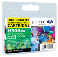 Replacement 300XL Black Ink Cartridge (Alternative to HP No CC641E), 18ml