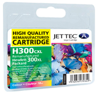 Replacement 300XL Colour Ink Cartridge (Alternative to HP No CC644E), 18ml