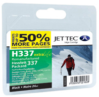 Replacement 50% More Pages Black Ink Cartridge (Alternative to HP No 337, C9364E)