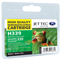 Replacement High Capacity Black Ink Cartridge (Alternative to HP No 339, C8767E)