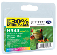 Replacement 30% More Pages Colour Ink Cartridge (Alternative to HP No 343, C8766E)