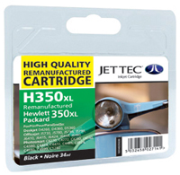 Replacement 350XL Black Ink Cartridge (Alternative to HP No 350 CB336EE)