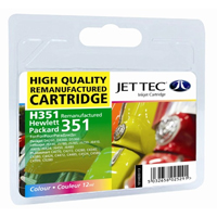 Replacement 351 Colour Ink Cartridge (Alternative to HP No 351 CB337EE)
