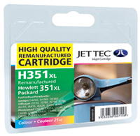 Replacement 351XL Colour Ink Cartridge (Alternative to HP No 351 CB338EE)
