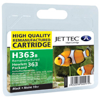 Replacement Black Ink Cartridge (Alternative to HP No 363, C8721E)