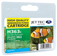 Replacement Cyan Ink Cartridge (Alternative to HP No 363, C8771E)