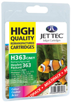 Replacement Multi Pack Cyan/Magenta/Yellow Ink Cartridge (Alternative to HP No CB333E)