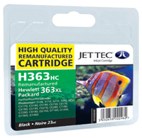 Replacement High Capacity Black Ink Cartridge (Alternative to HP No 363, C8719E)