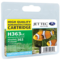 Replacement Light Cyan Ink Cartridge (Alternative to HP No 363, C8774E)