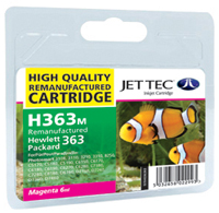 Replacement Magenta Ink Cartridge (Alternative to HP No 363, C8772E)