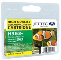 Replacement Yellow Ink Cartridge (Alternative to HP No 363, C8773E)