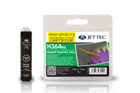 Jettec Replacement High Capacity Black Ink Cartridge (Alternative to HP No 364XL, CN684E)