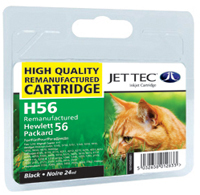 Replacement Black Ink Cartridge (Alternative to HP No 56, C6656A)