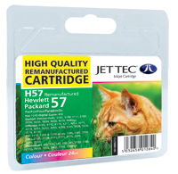 Replacement Colour Ink Cartridge (Alternative to HP No 57, C6657A)