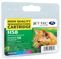 Replacement Photo Colour Ink Cartridge (Alternative to HP No 58, C6658A)