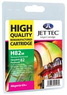Jet Tec Replacement Magenta Ink Cartridge for C4912A, 69ml